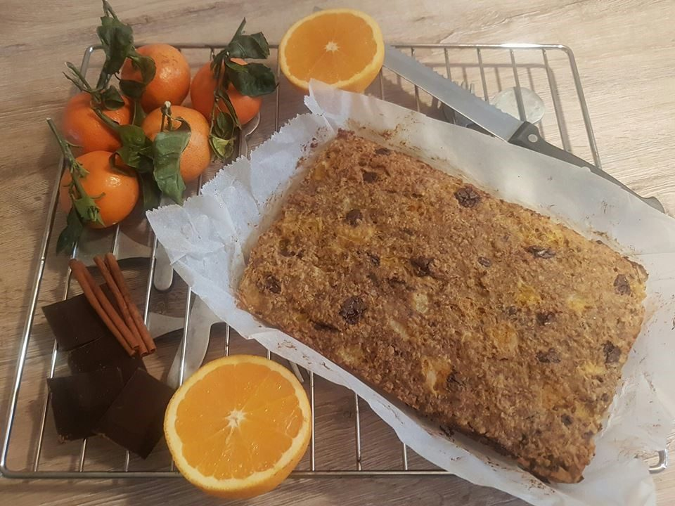 mandarijnencake
