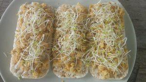 Homemade hummus 2