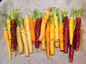 Gegrilde wortelen uit de oven 2